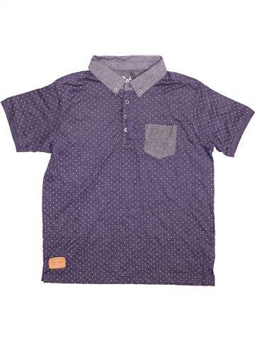Polo de manga corta niño PRIMARK violeta 13 años verano #1496426_1