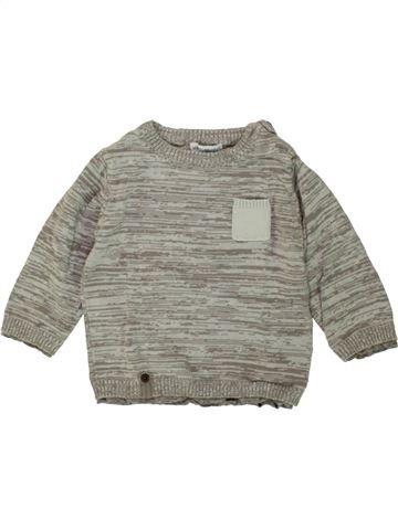 jersey niño VERTBAUDET gris 12 meses invierno #1496450_1