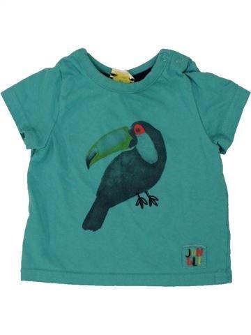 Camiseta de manga corta niño TAPE À L'OEIL verde 6 meses verano #1496559_1