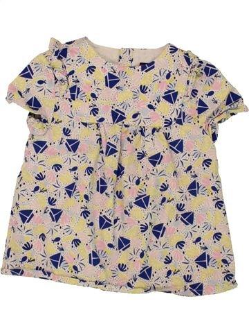 Blusa de manga corta niña SERGENT MAJOR beige 6 años verano #1496582_1