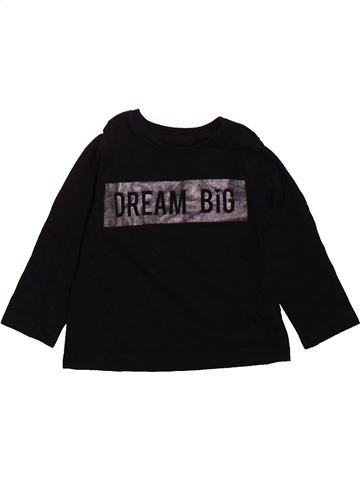 T-shirt manches longues garçon PRIMARK noir 9 mois hiver #1496844_1