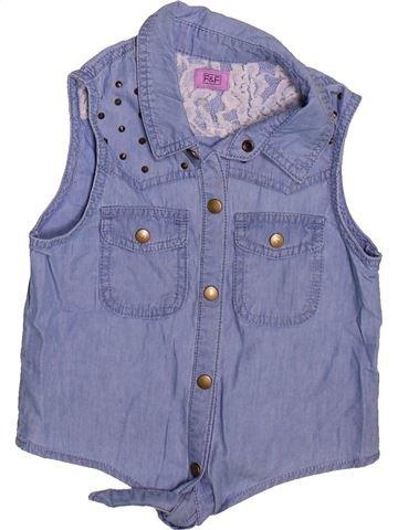 Blusa de manga corta niña F&F azul 7 años verano #1496860_1