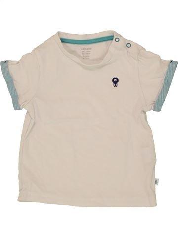 Camiseta de manga corta niño OKAIDI azul 6 meses verano #1496935_1