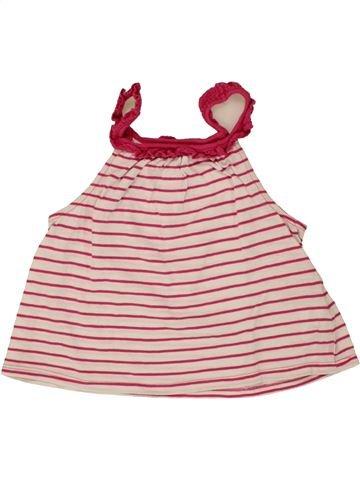 T-shirt sans manches fille OKAIDI violet 6 ans été #1497003_1