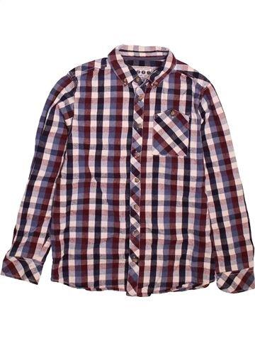 Chemise manches longues garçon MATALAN violet 11 ans hiver #1497064_1