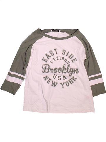 T-shirt manches courtes fille NEW LOOK rose 14 ans été #1497112_1