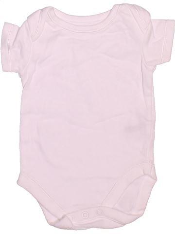 T-shirt manches courtes unisexe NUTMEG rose 3 mois été #1497147_1