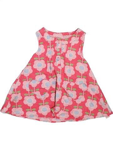Vestido niña BLUEZOO rosa 6 meses invierno #1497187_1