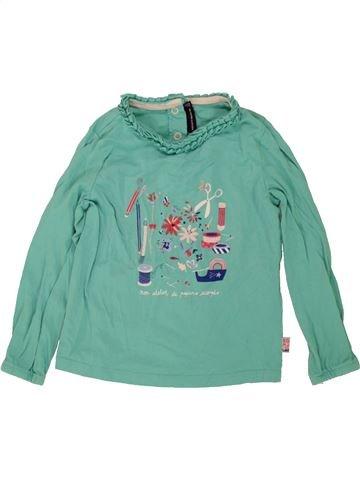 T-shirt manches longues fille SERGENT MAJOR bleu 3 ans hiver #1497251_1