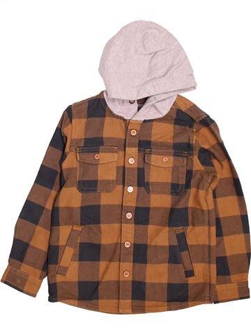Camisa de manga larga niño NEXT marrón 7 años invierno #1497277_1