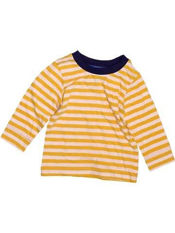 T-shirt manches longues garçon GEORGE beige 12 mois hiver #1497284_1