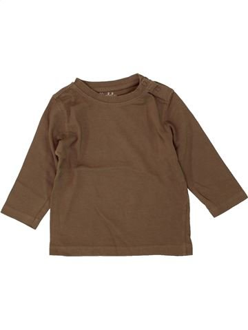 Camiseta de manga larga niño KIMBALOO marrón 12 meses invierno #1497289_1