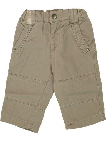 Pantalón niño DPAM beige 6 meses invierno #1497320_1