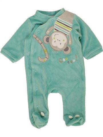 Pijama de 1 pieza niño GEMO azul 1 mes invierno #1497356_1
