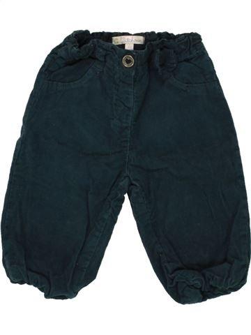 Pantalón niña KIABI azul oscuro 9 meses invierno #1497429_1