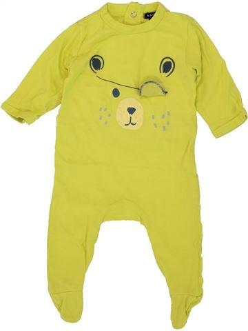 Pyjama 1 pièce garçon KIAKESU vert 3 mois été #1497442_1