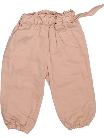 Pantalón niña ZARA rosa 12 meses verano #1497486_1