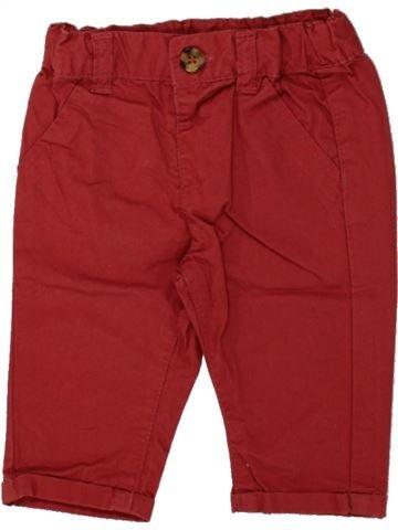 Tejano-Vaquero niño KIABI rojo 3 meses invierno #1497508_1