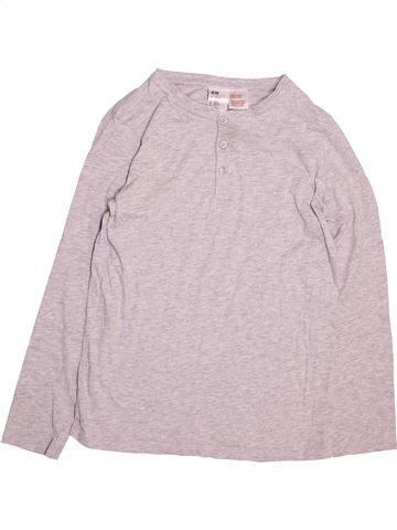 Camiseta de manga larga niño H&M rosa 12 años invierno #1497577_1