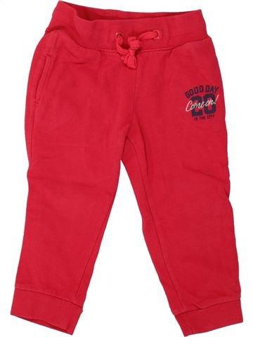 Pantalon fille VERTBAUDET rouge 3 ans hiver #1497578_1