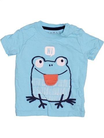 Camiseta de manga corta niño NUTMEG azul 12 meses verano #1497611_1