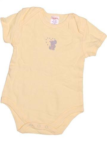 Camiseta de manga corta niño IMPIDIMPI beige 6 meses verano #1497702_1