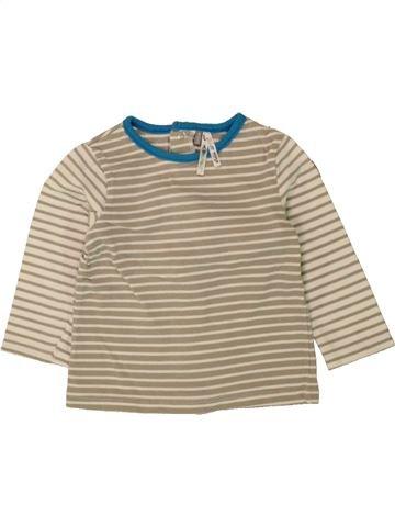 Camiseta de manga larga niño ORCHESTRA beige 6 meses invierno #1497850_1