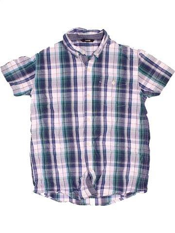 Camisa de manga corta niño GEORGE blanco 14 años verano #1497857_1