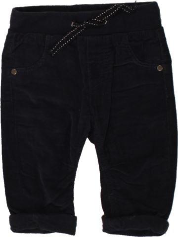 Pantalón niño GEMO negro 6 meses invierno #1497868_1