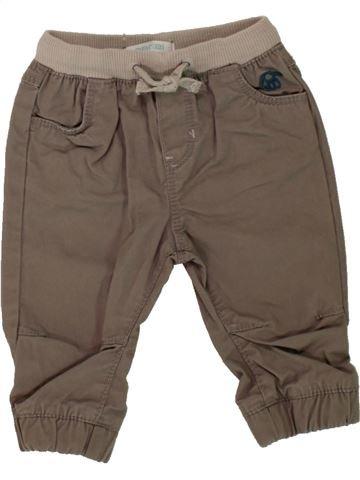 Pantalon garçon OKAIDI marron 6 mois hiver #1497886_1
