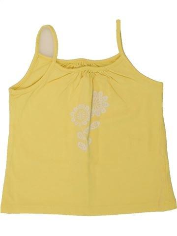 Camiseta sin mangas niña VERTBAUDET amarillo 3 años verano #1497937_1