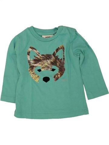 Camiseta de manga larga niño MEXX verde 3 meses invierno #1498080_1