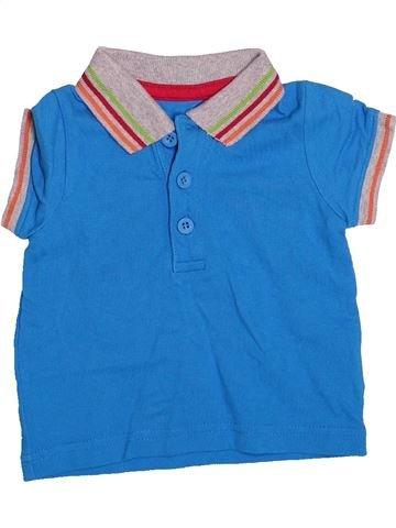 Polo de manga corta niño MOTHERCARE azul 6 meses verano #1498143_1