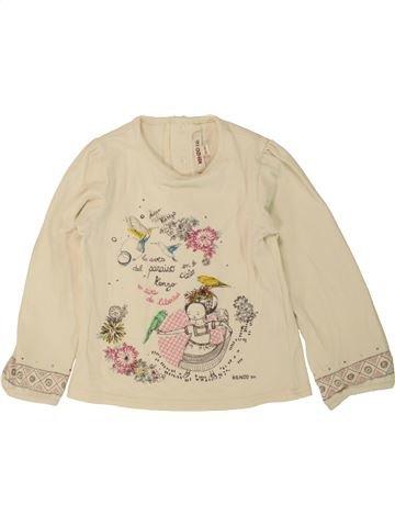 Camiseta de manga larga niña KENZO blanco 3 años invierno #1498261_1