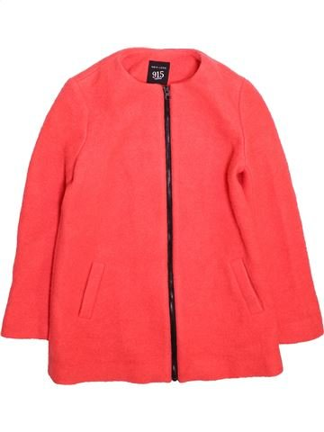 Manteau fille NEW LOOK rouge 9 ans hiver #1498366_1