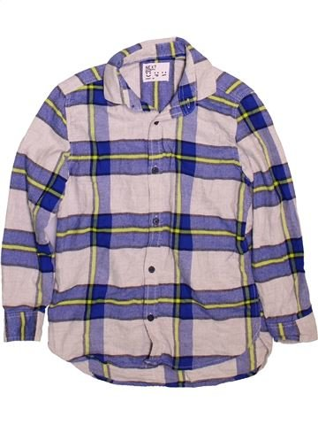 Chemise manches longues garçon NEXT gris 7 ans hiver #1498371_1