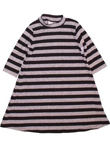 Vestido niña F&F gris 7 años invierno #1498432_1