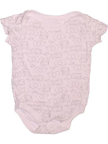 Camiseta de manga corta niño TU blanco 12 meses verano #1498451_1