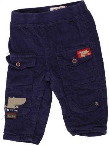 Pantalón niño LA COMPAGNIE DES PETITS azul 6 meses invierno #1498454_1