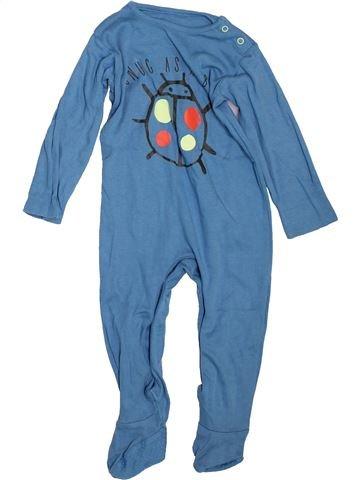 Pyjama 1 pièce garçon TU bleu 18 mois été #1498488_1