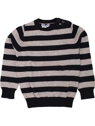 jersey niño JACADI negro 4 años invierno #1498489_1
