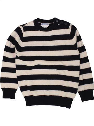 jersey niño JACADI negro 4 años invierno #1498493_1