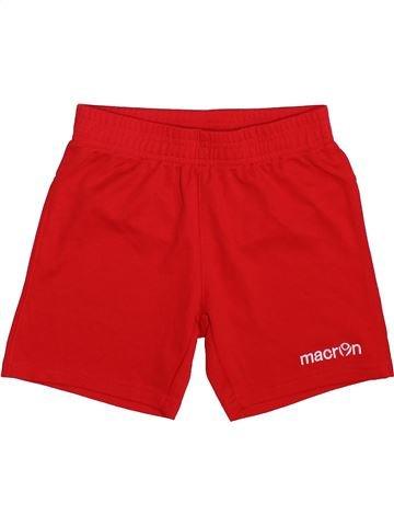 Pantalon corto deportivos niño MACRON rojo 7 años verano #1498552_1