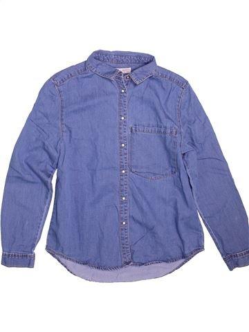 Blusa de manga larga niña ZARA violeta 12 años invierno #1498558_1