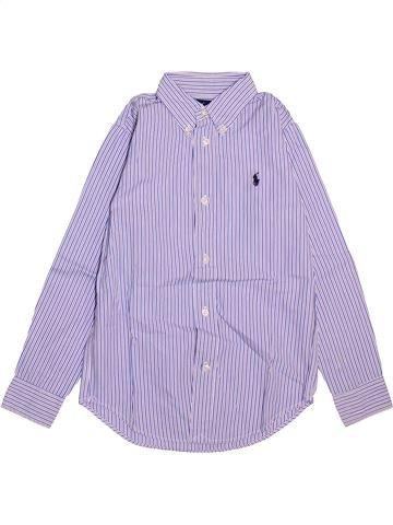Camisa de manga larga niño RALPH LAUREN gris 7 años invierno #1498559_1