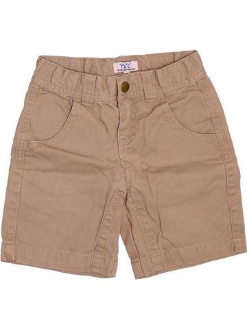 Short-Bermudas niño YCC-214 marrón 4 años verano #1498576_1
