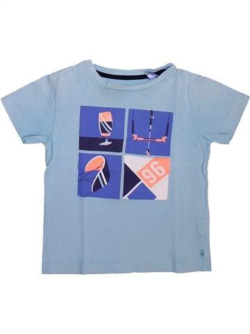 Camiseta de manga corta niño OKAIDI azul 5 años verano #1498583_1