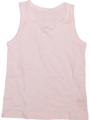 Camiseta sin mangas niña TU blanco 6 años verano #1498605_1