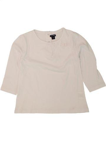 Camiseta de manga larga niña KIABI azul 2 años invierno #1498617_1