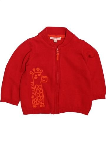 Chaleco niño DPAM rojo 12 meses invierno #1498670_1